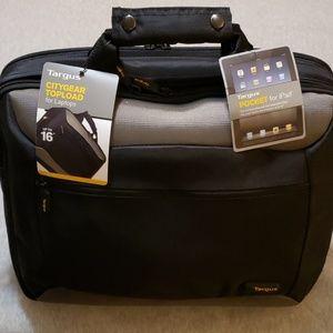 NWT Targus laptop bag